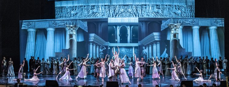Antalya Devlet Opera ve Balesi'nin Troya'sı