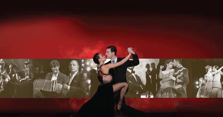 ''I am Tango'' dansçıları ve müzisyenleri