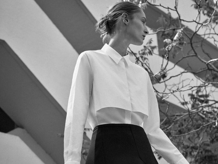 COS'un Bauhaus'tan ilham alan kapsül koleksiyonu, Sonbahar/Kış 2019. Tüm haklar COS'a aittir.