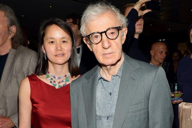 Woody Allen ve eşi Soon-Yi Previn.
