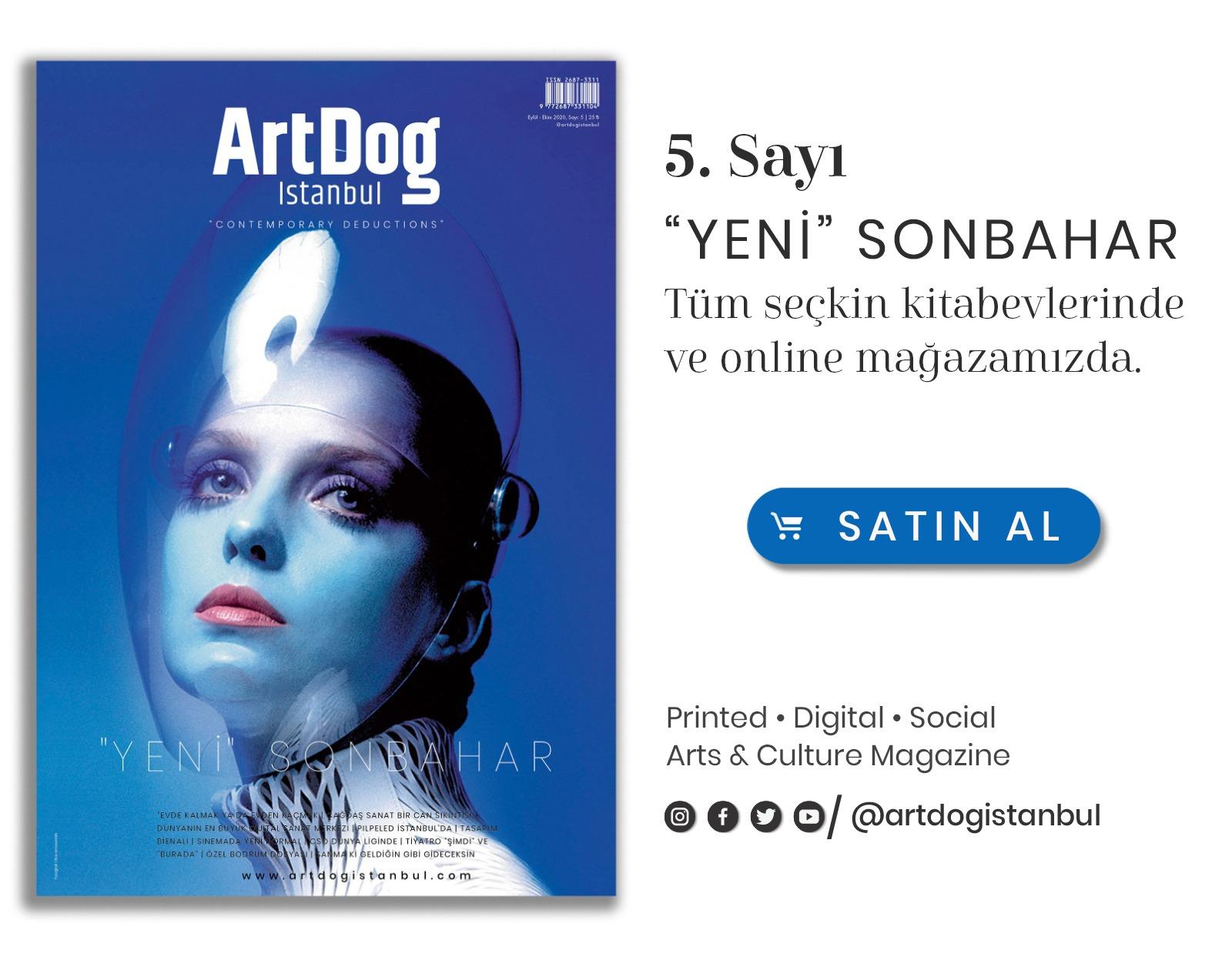 ArtDog Istanbul Sidebar Banner 06.10.20 - 06.12.20