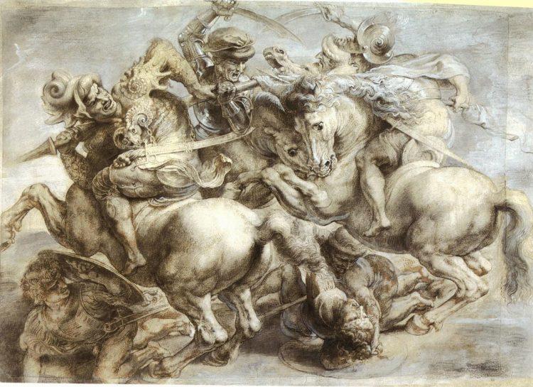 Peter Paul Rubens, , The Battle of Anghiari, 1603 Fotograf: WIKIMEDIA COMMONS