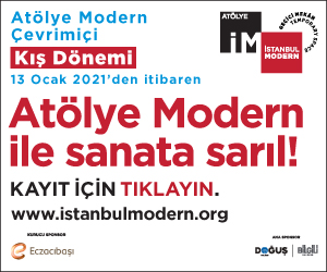 İstanbul Modern Side Banner 12.12.20