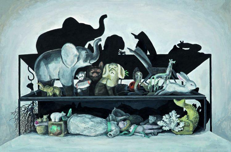 Noah's Ark, Aylin Zapçıoğlu, 51x77 cm