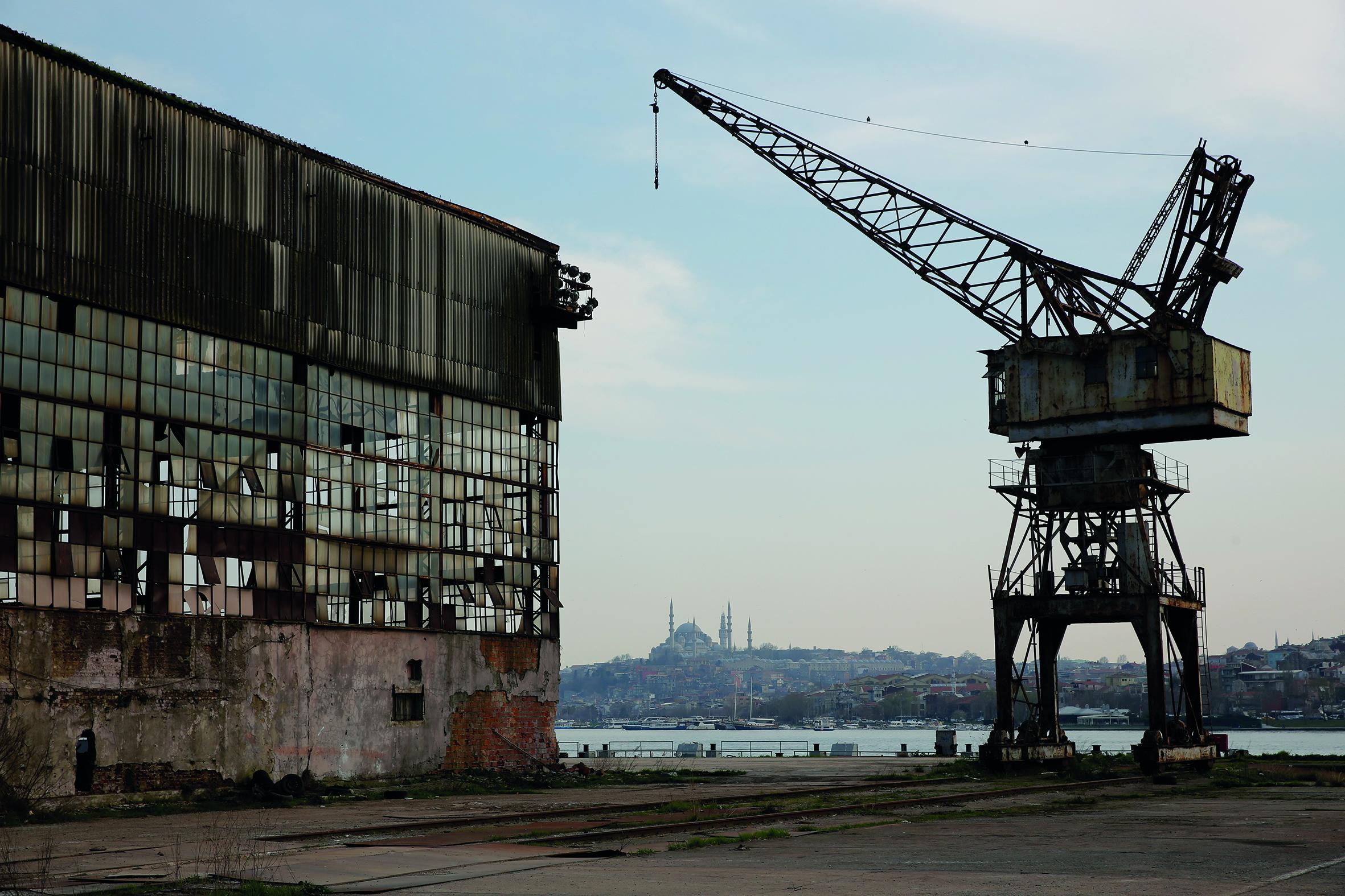 Haliç Shipyard is under renovation, courtesy of Tabanlioğlu Architects
